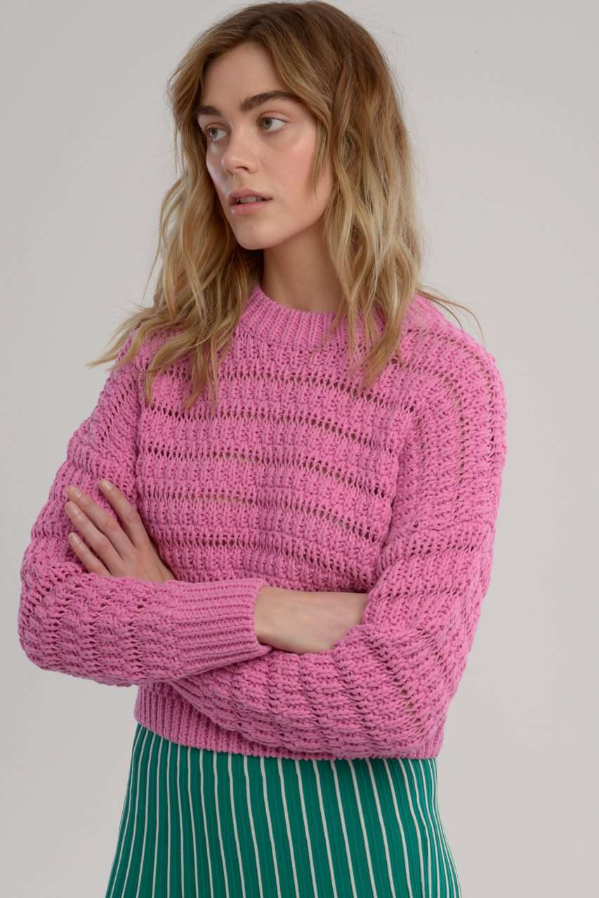 The Bonni Knit in Pink
