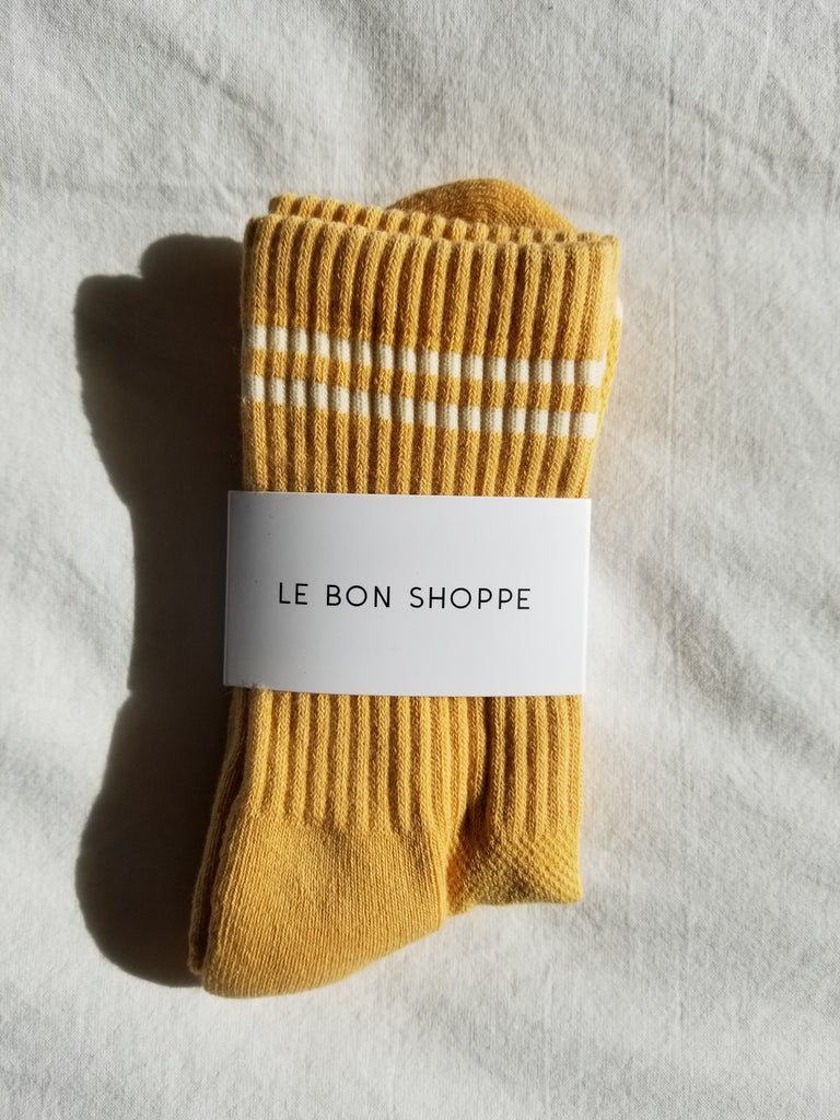 Yellow-Boyfriend-Socks/Twiin