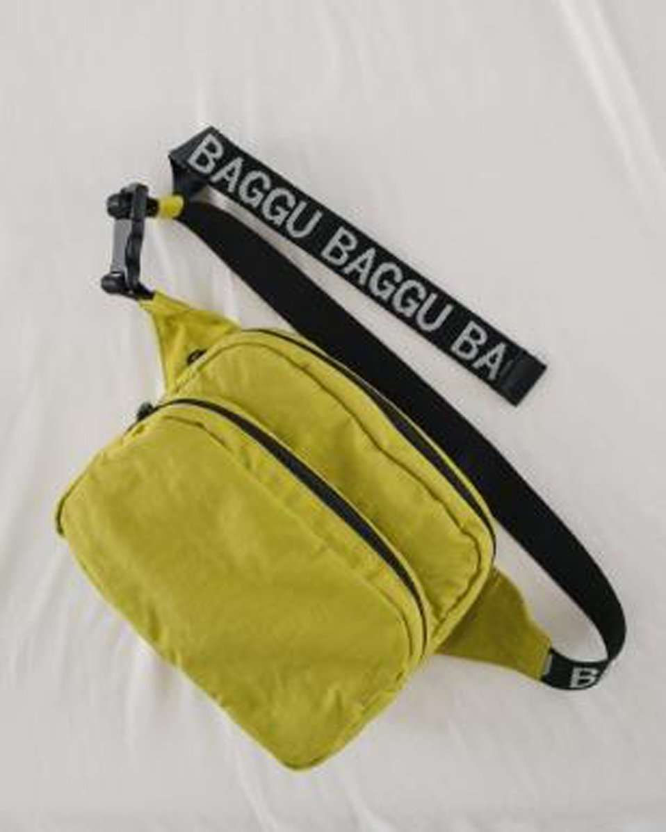 The Bum Bag in Chartreuse