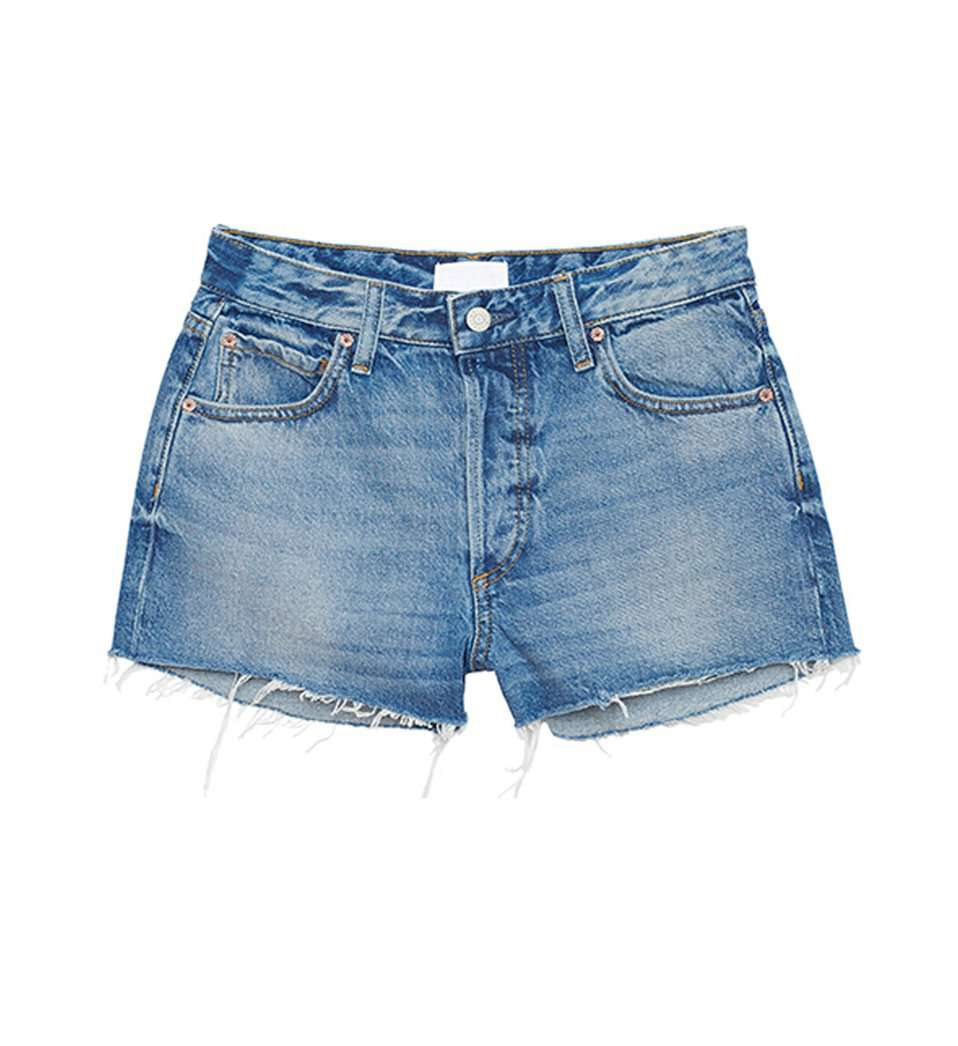 The Cody Denim Shorts in The Birds