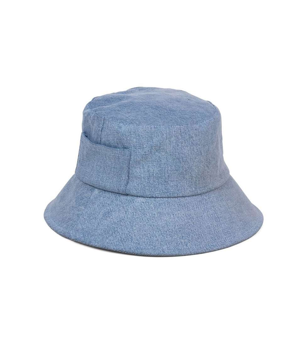 The Wave Bucket Hat in Denim