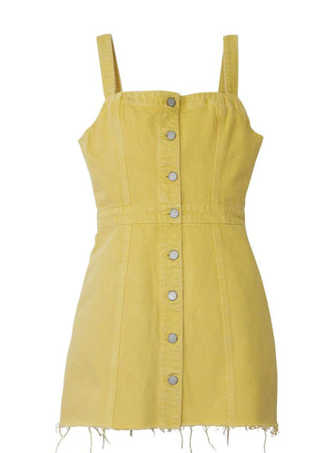 The Kennedy Dress in Honey Pot