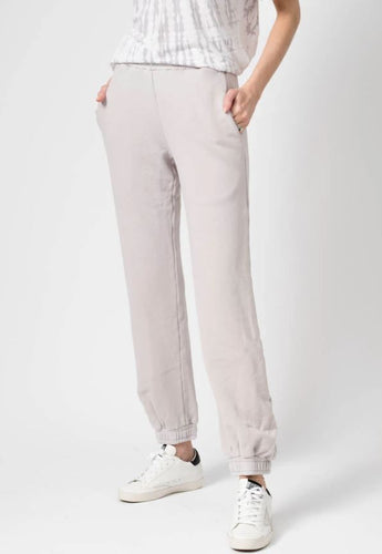 The Brooklyn Sweatpants in Vintage White Stone