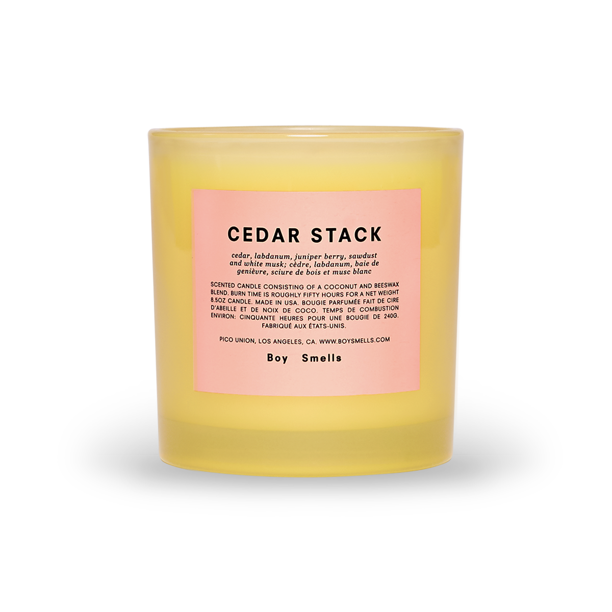 The Pride Cedar Stack Candle