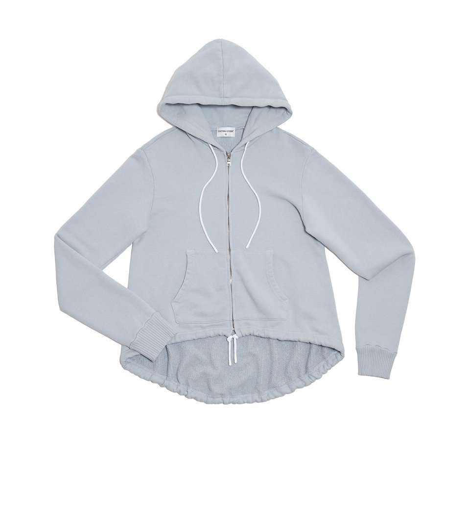 The Brooklyn Zip-Up Hoodie in Crystalline