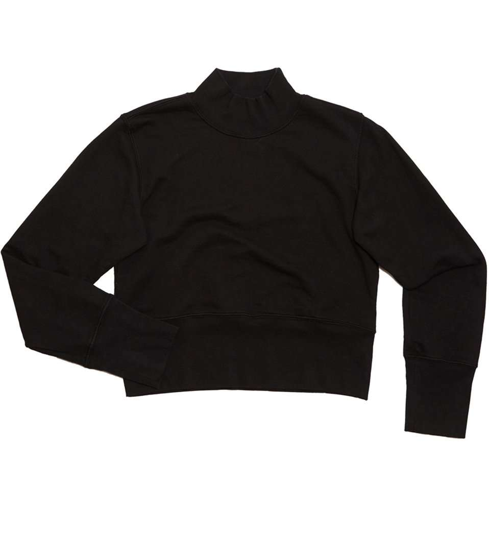 The Milan Sweatshirt in Black