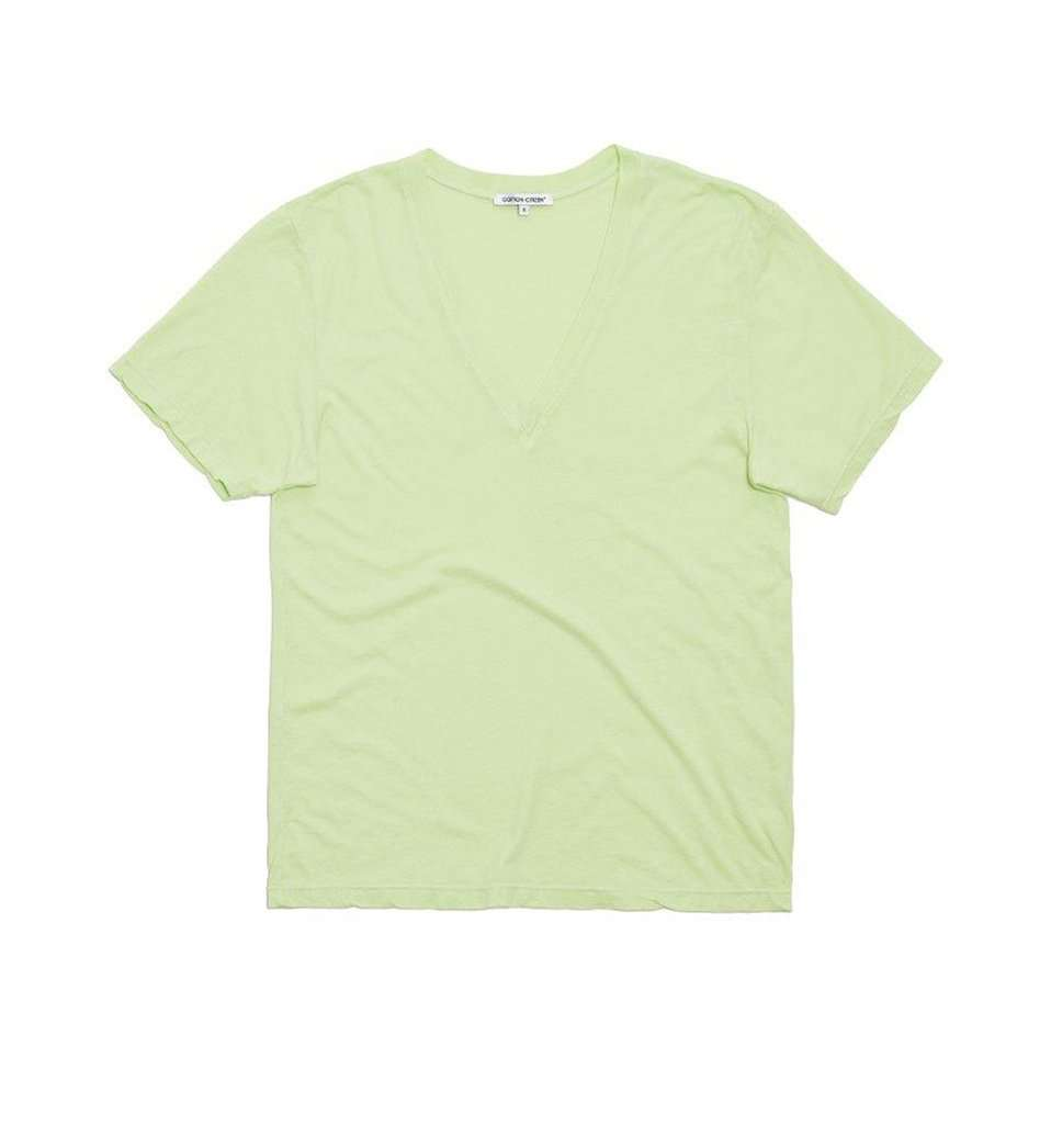 The Sydney V Neck in Citron
