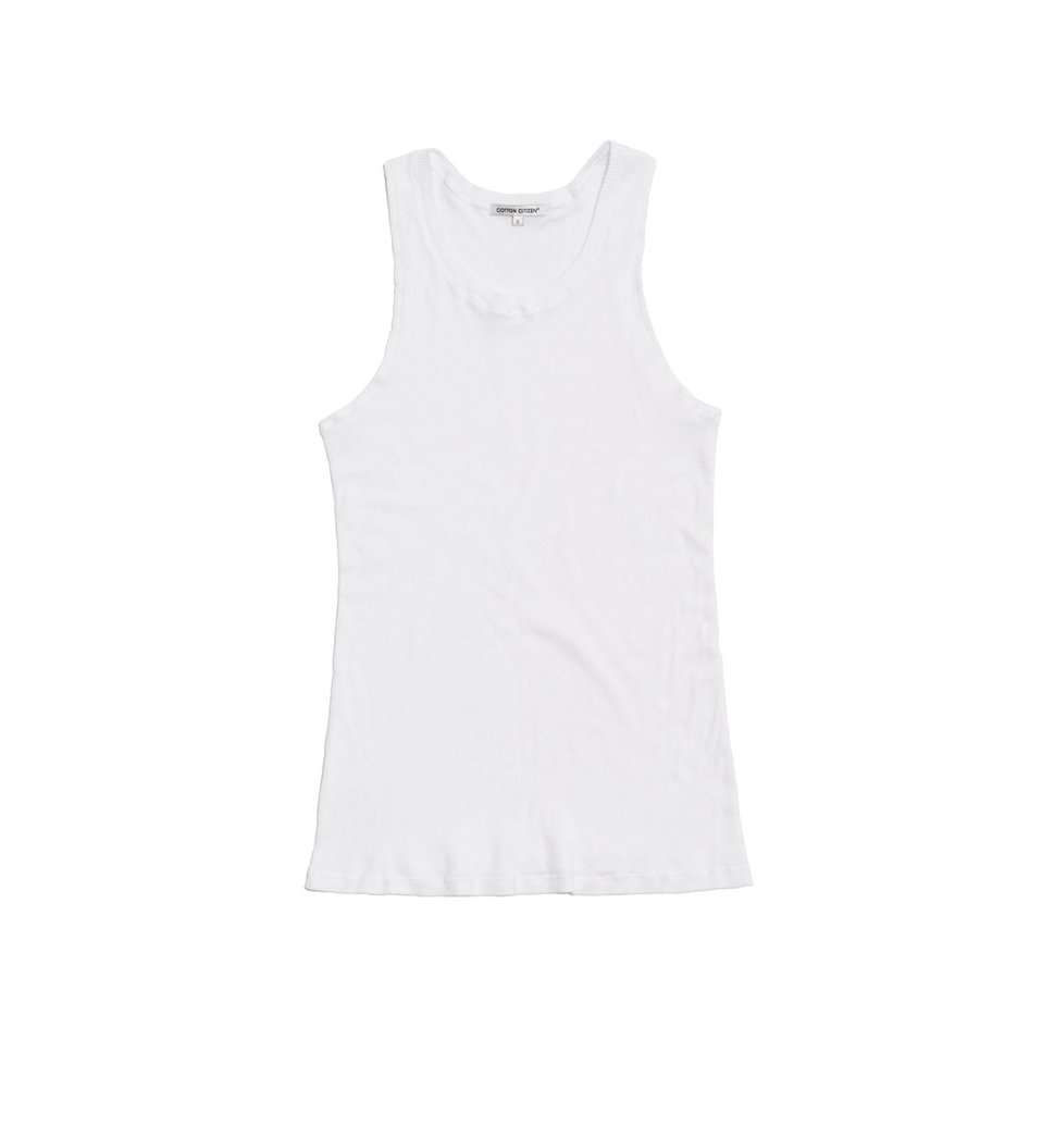 The Venice Tank in White