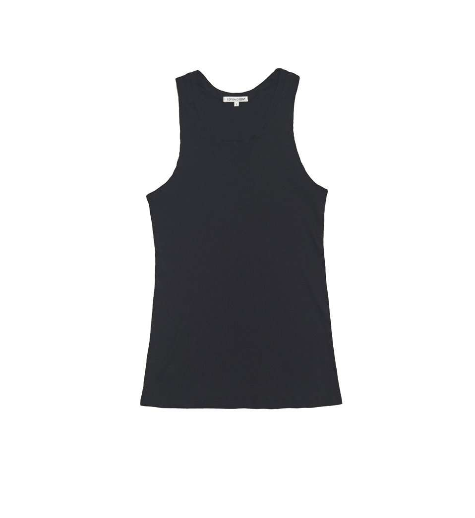 The Venice Tank in Black