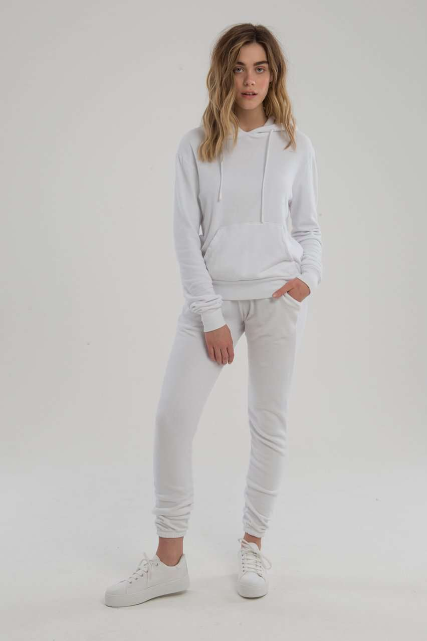 The Aspen Sweatpants in White