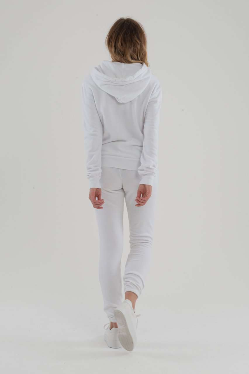 The Aspen Pullover in White