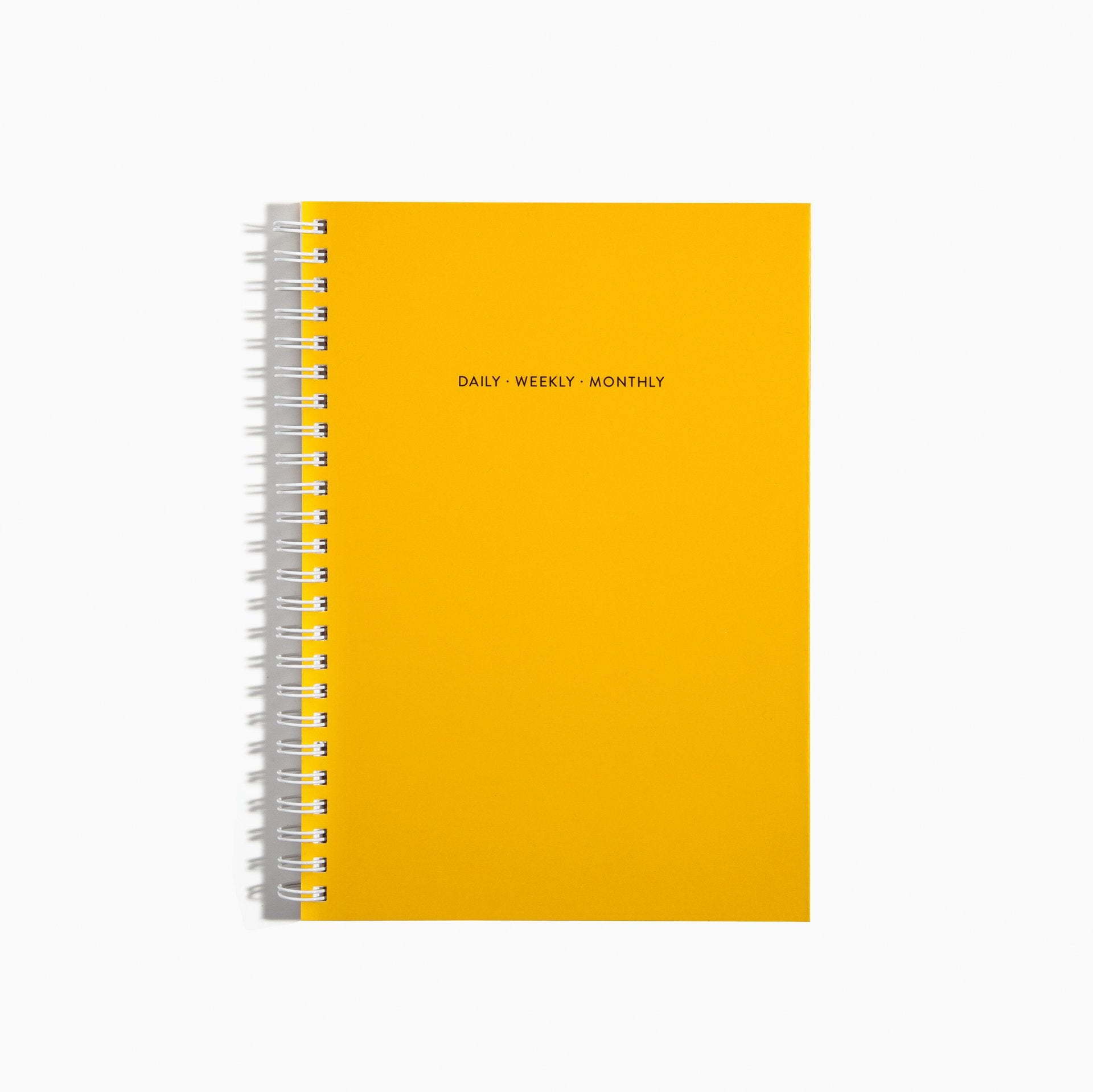 The Monthly Paper Planner in Lemon