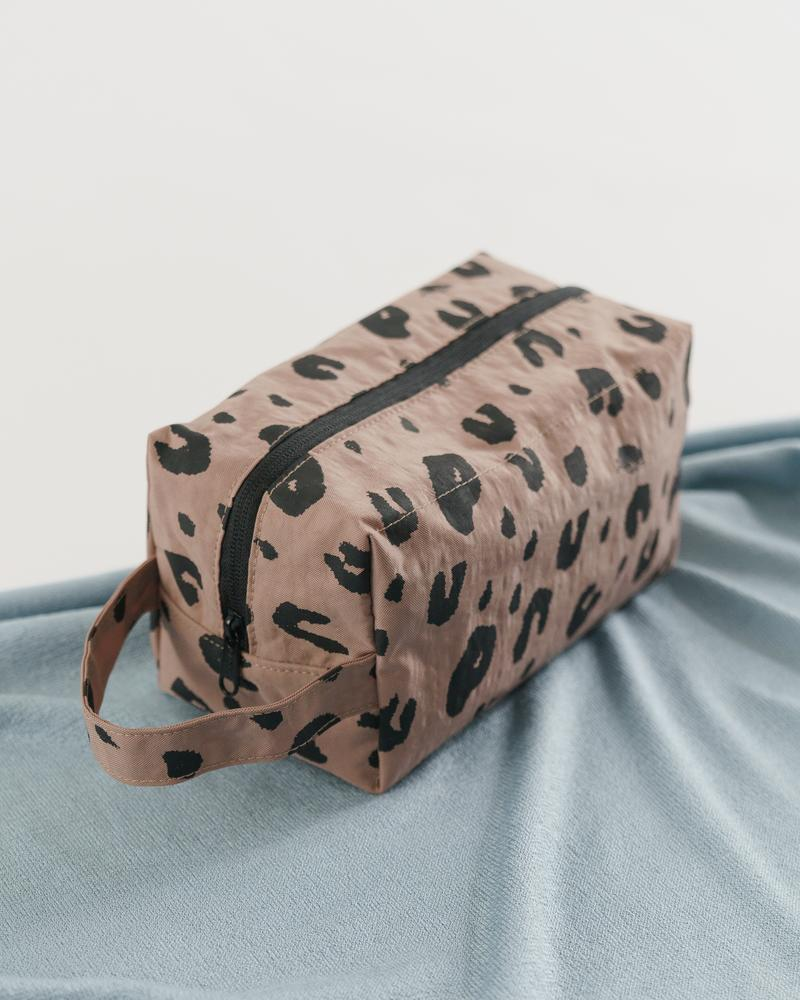 The Dopp Kit Bag in Leopard