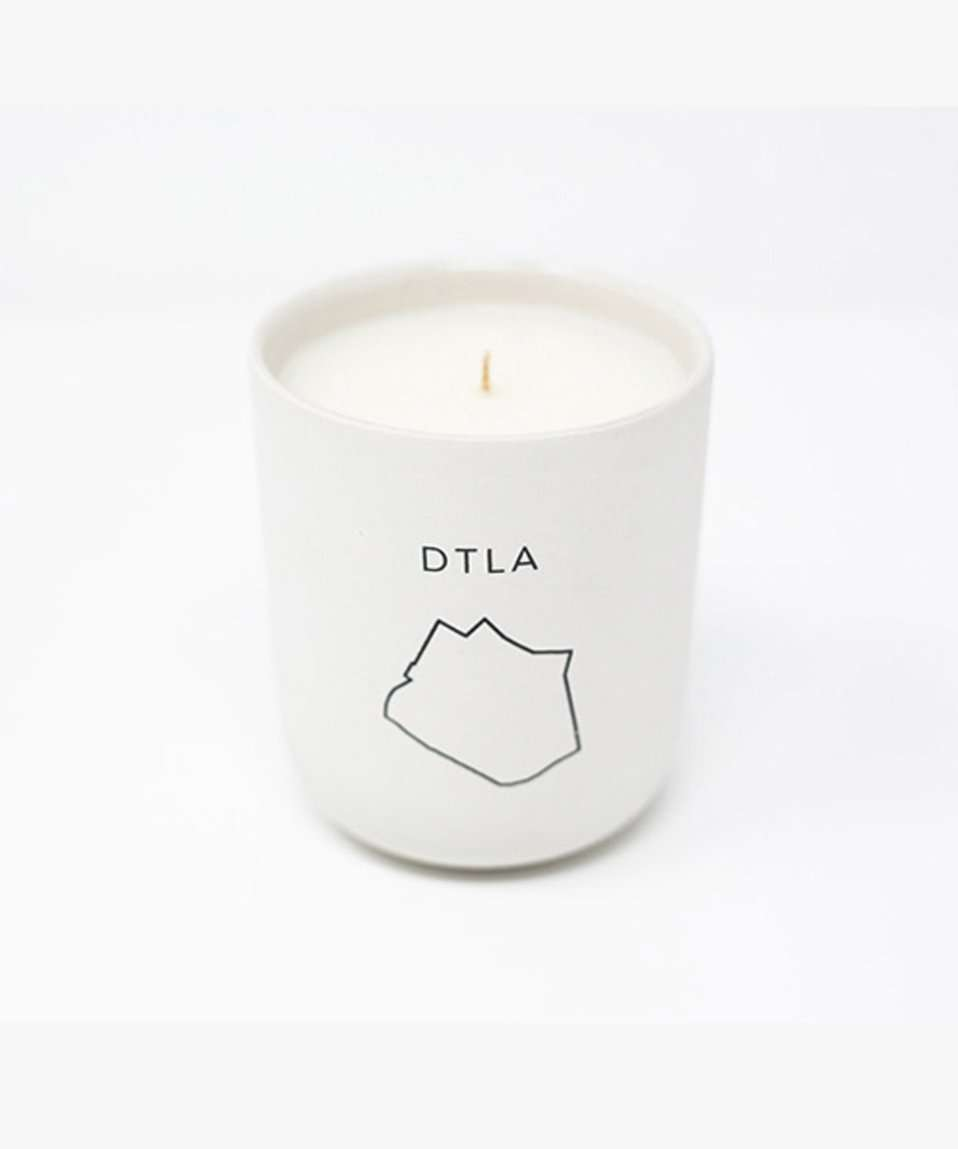 The City Scents Candle in DTLA