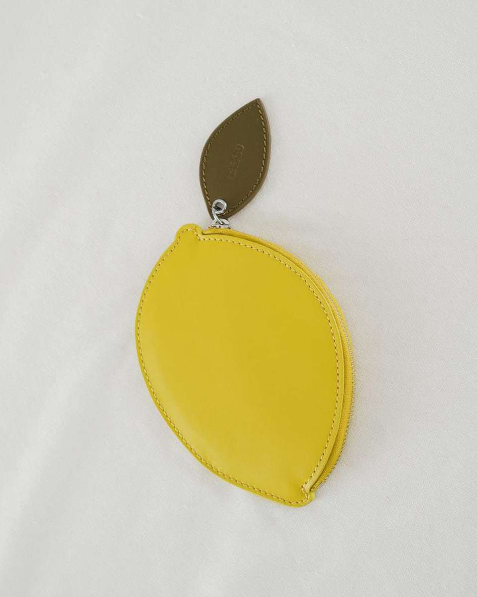The Lemon Pouch in Citron