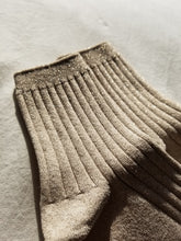 Load image into Gallery viewer, The Lurex Socks in Pearl