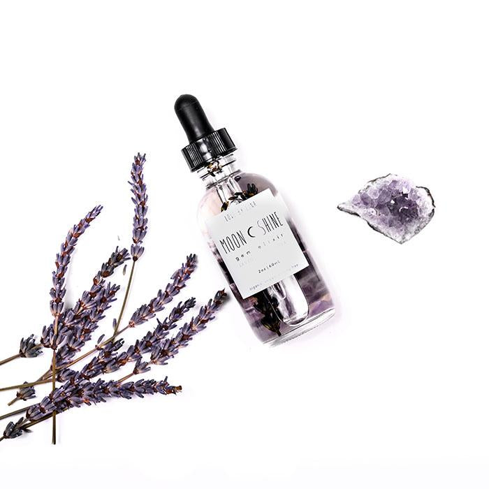 The Lavender and Vanilla Moonshine Gem Elixir