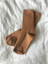 Load image into Gallery viewer, The Mercerized Cotton Socks in Peanut Butter