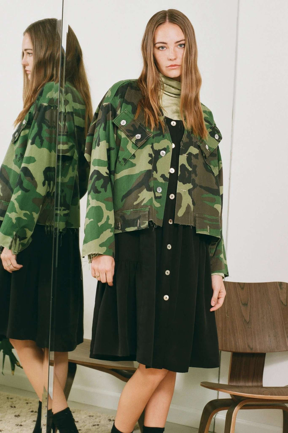 The Military Jacket in Army