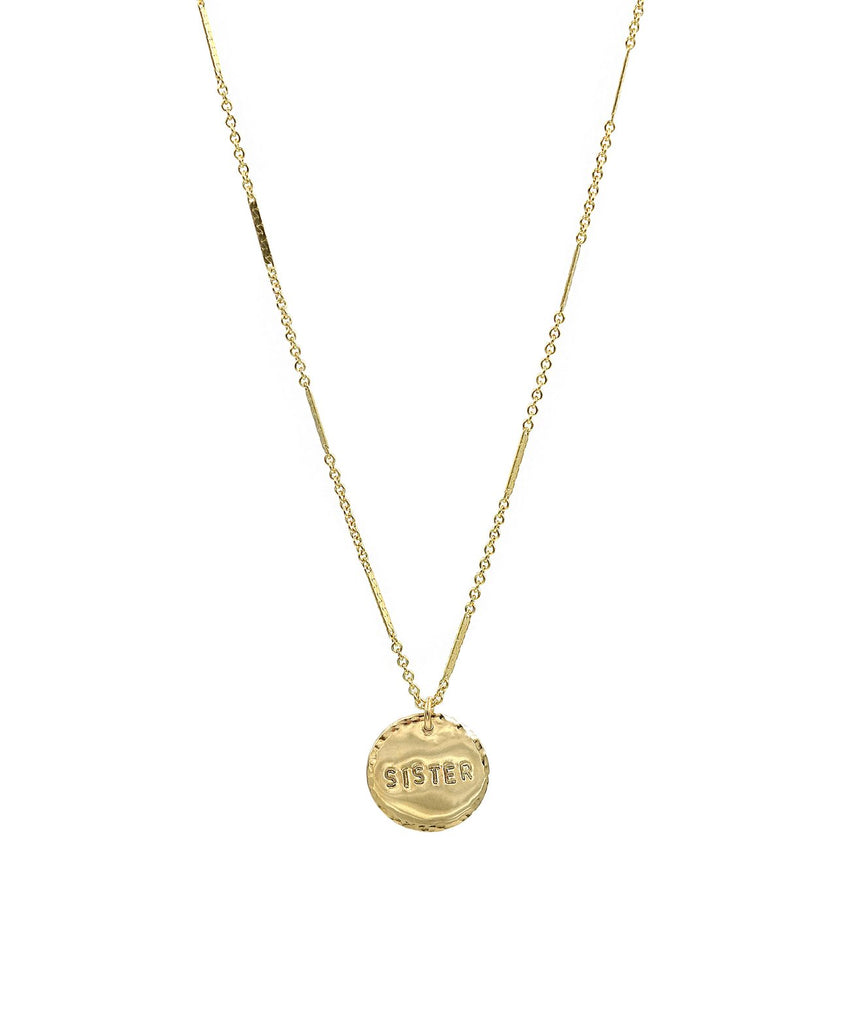 Coin-Necklace-Sister/Twiin