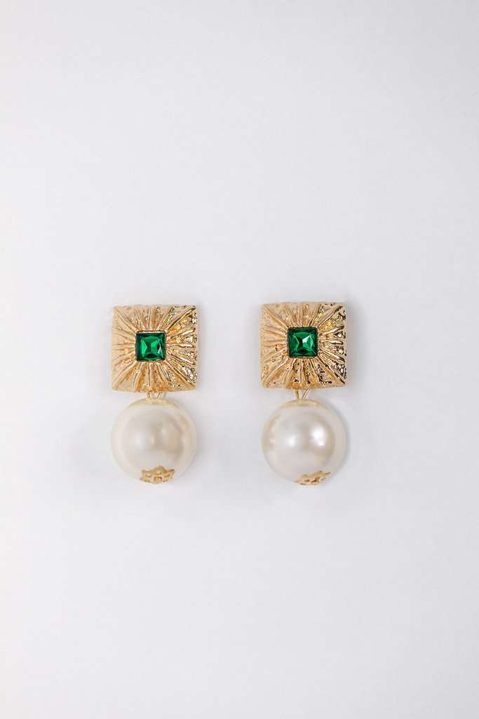 The Gita Earrings in Gold