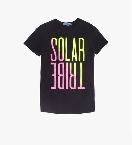 The Solar Tribe Tee in Black