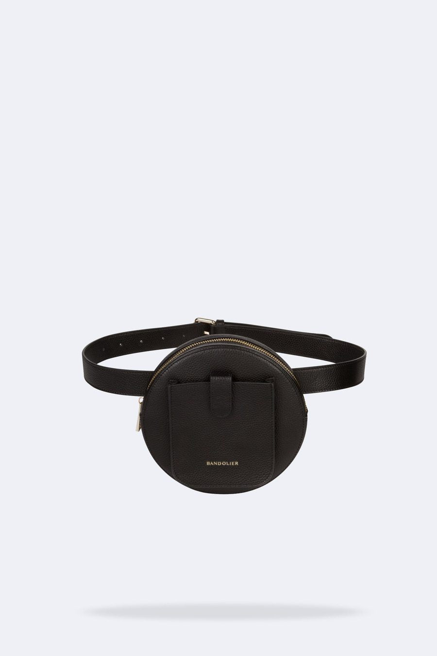 The Ricky Belt Bag in Black/Gold