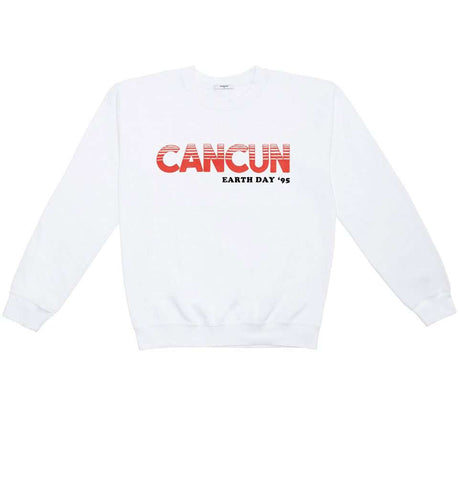 The Cancun Sweatshirt in White