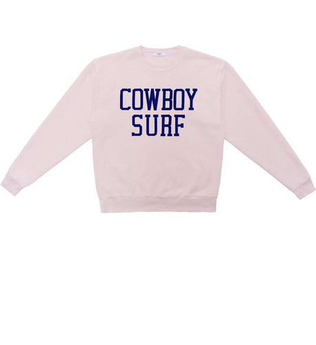 The Cowboy Inside Out Sweat in Pink
