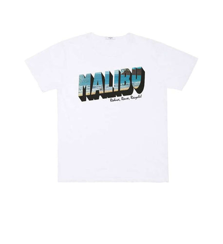 The Malibu Tee in White