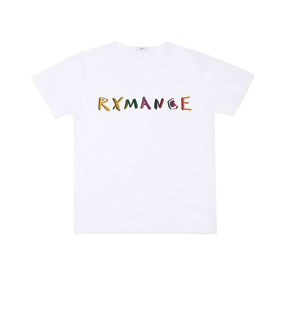 The Rxmance Tee in White