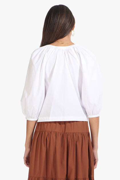 The Dill Top in White