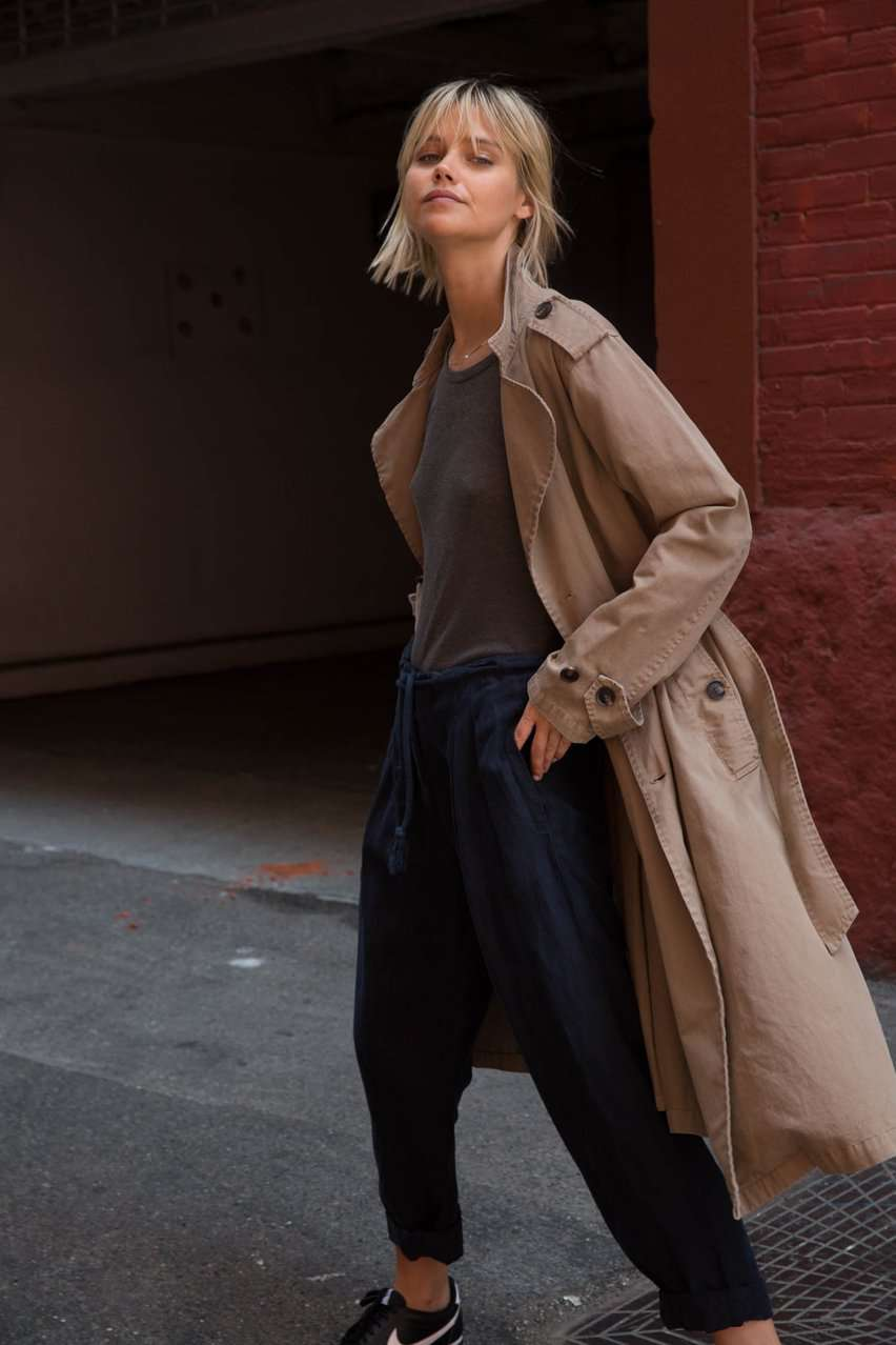 The Dorian Trench in Khaki