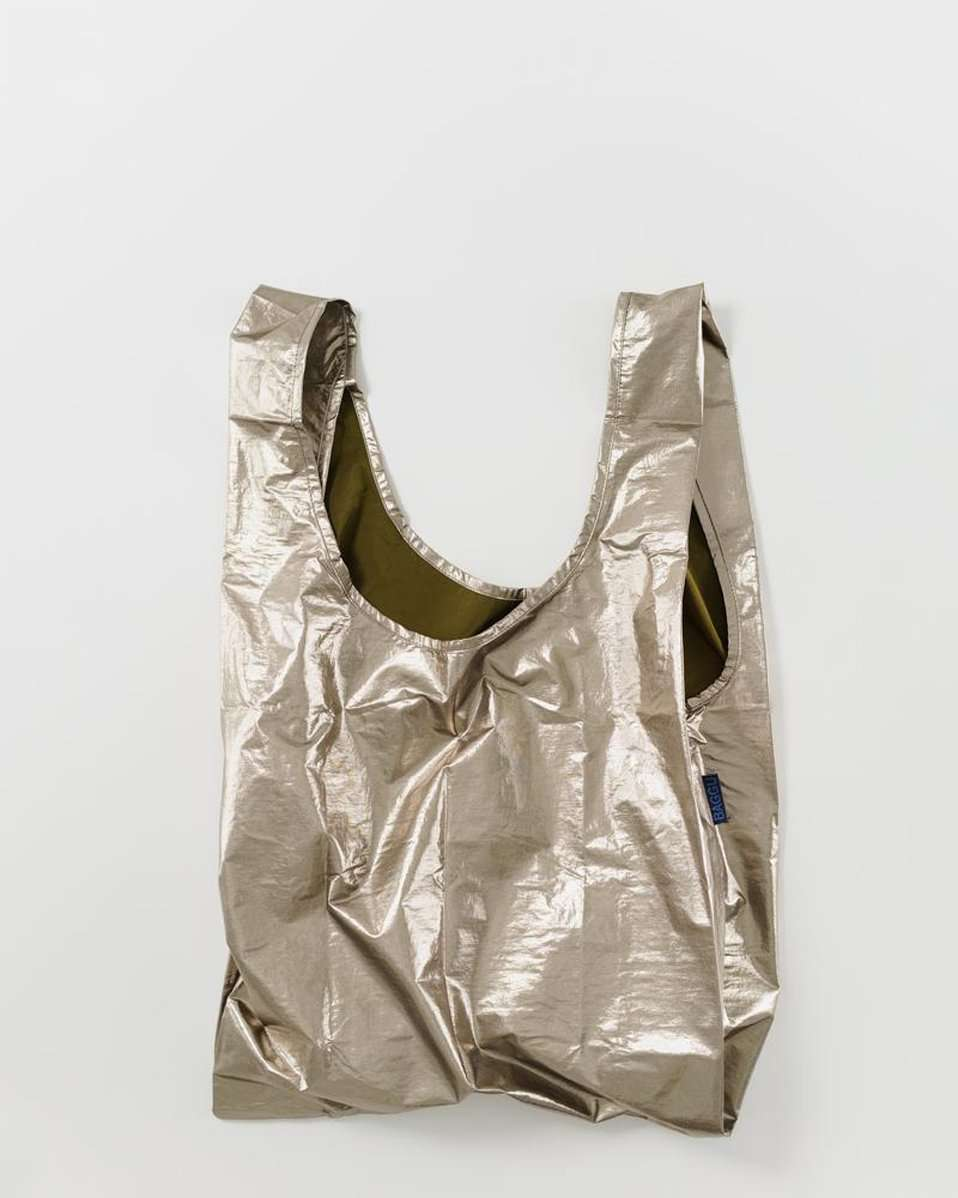 The Standard Baggu in Bronze Metallic