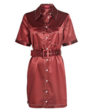 Load image into Gallery viewer, The Bentley Dress in Tawny Port