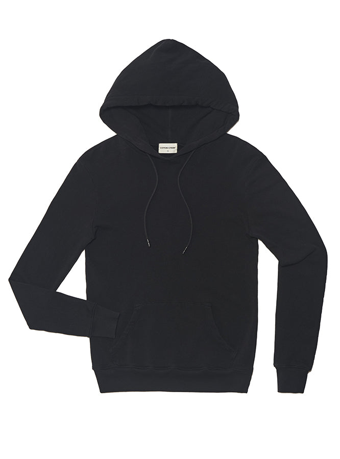 The Aspen Pullover in Black