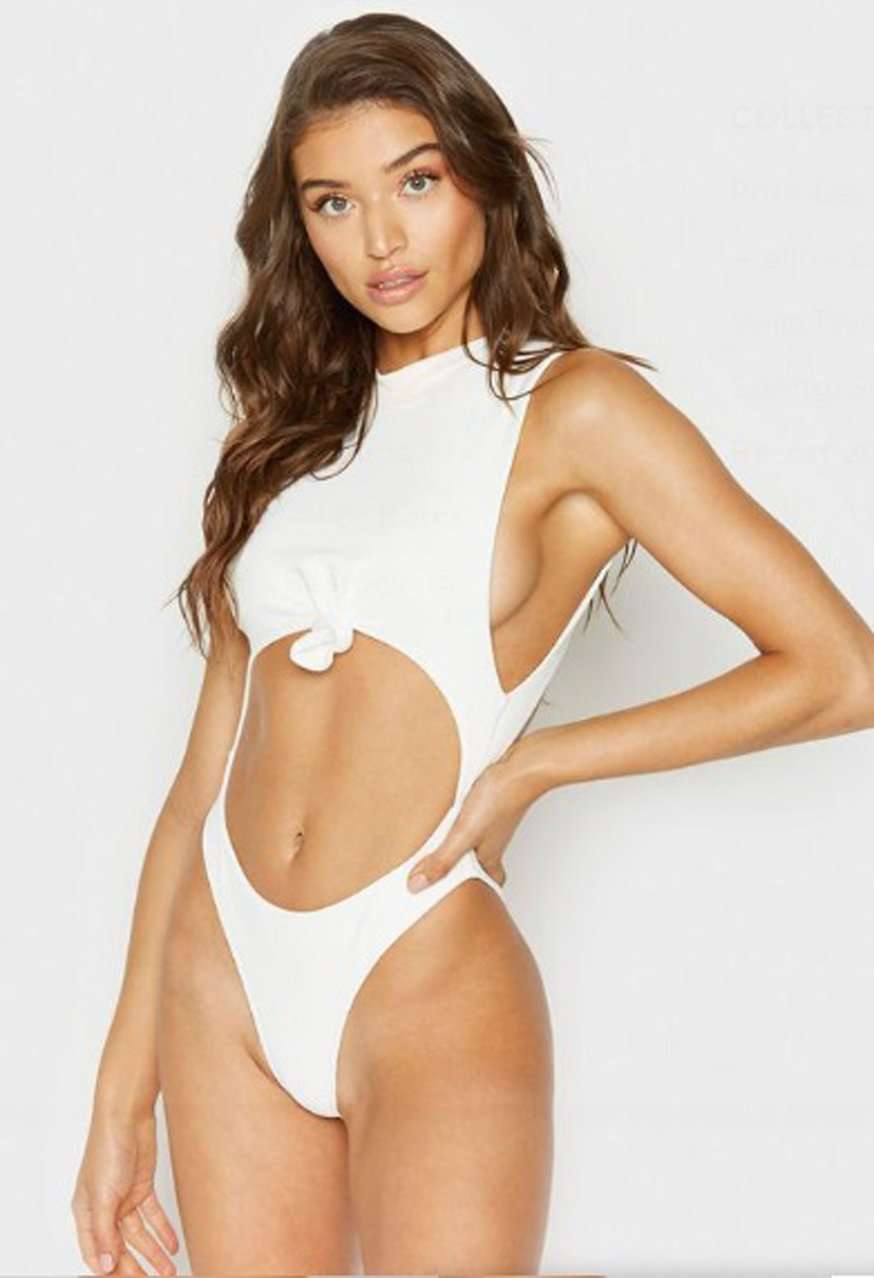The Blake One Piece in White