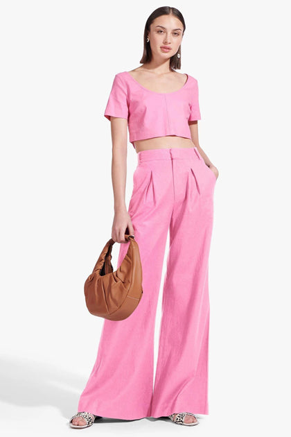 The Bruco Pant in Wild Orchid
