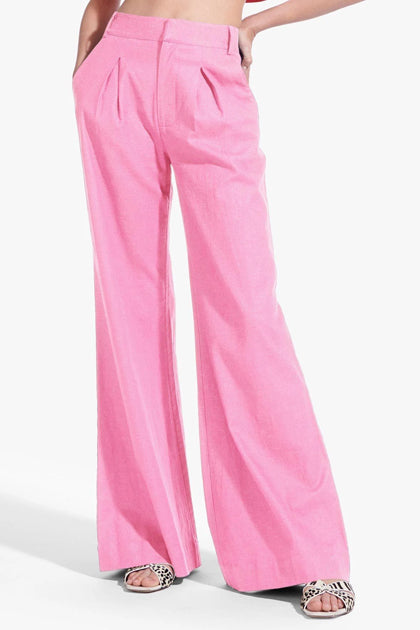 Pink Staud Bruco Pants