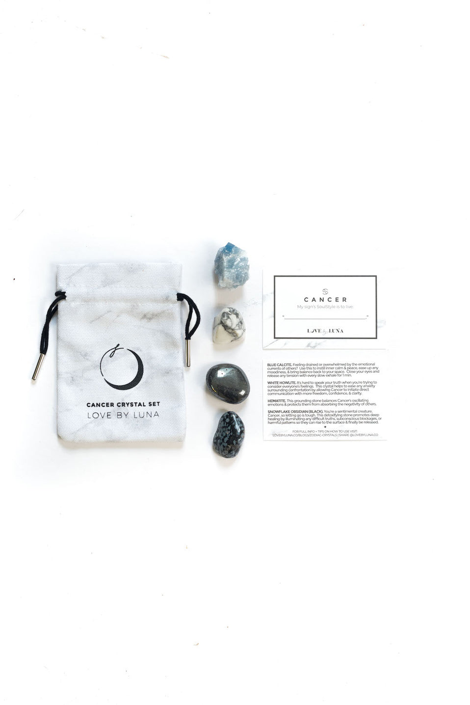 The Zodiac Crystal Set - Cancer