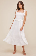 Load image into Gallery viewer, The Promenade Dress in White