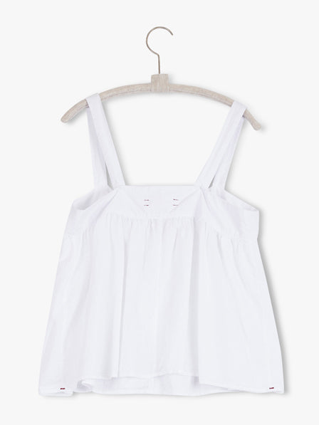 The Kyra Tank Top in White