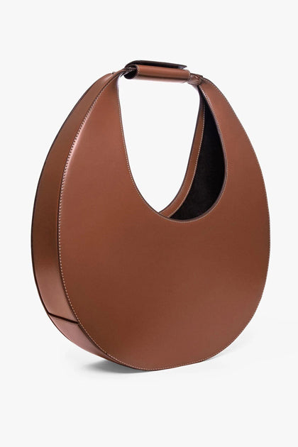 The Large Moon Tote Bag in Tan
