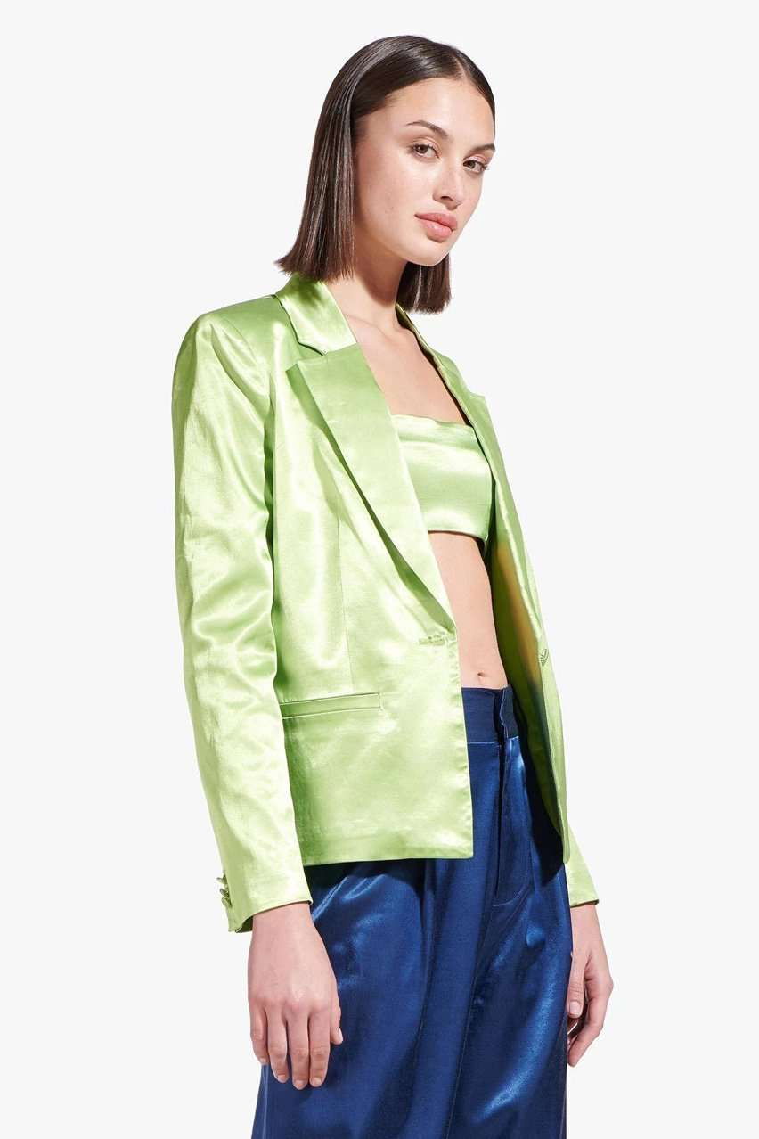 The Madden Blazer in Moss