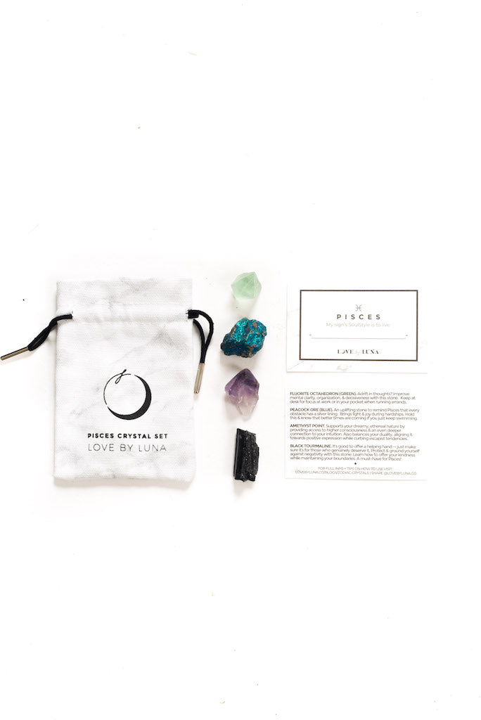 The Zodiac Crystal Set - Pisces