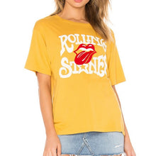 Load image into Gallery viewer, The Rolling Stones Tee in Yellow