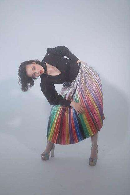 The Clara Skirt in Rainbow