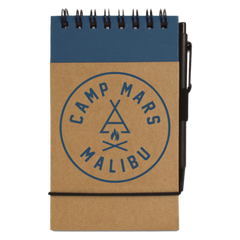 Camp Mars Notepad and Pen