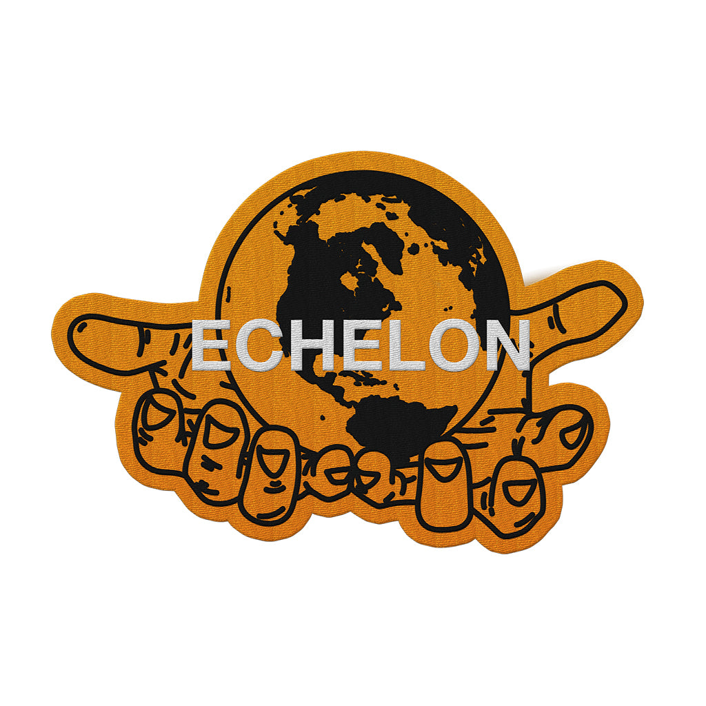 Camp Mars 2019 Echelon Globe Patch