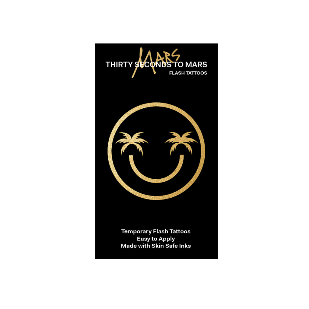 Mars Gold/Black Flash Tattoos